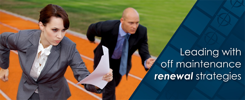 off maintenance contract renewals