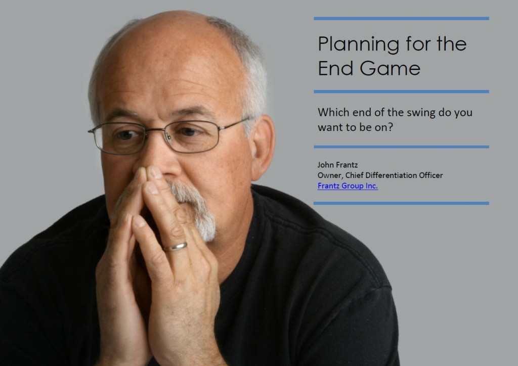 Business Valuation Whitepaper: Planning for the End Game
