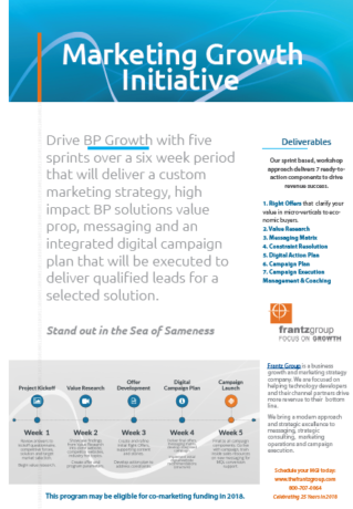 Marketing Growth Initiative for B2B
