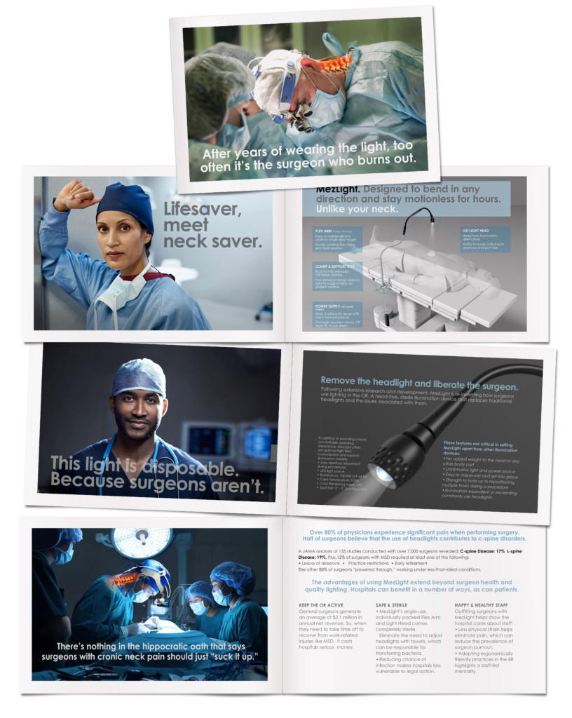 Creating an emotional appeal with surgeons