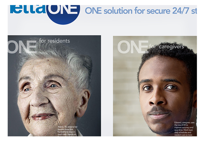Senior Living Management Software Emotional Connector Example - Mettaone